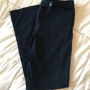 Navy blue pants. Size 4. Length29 inches